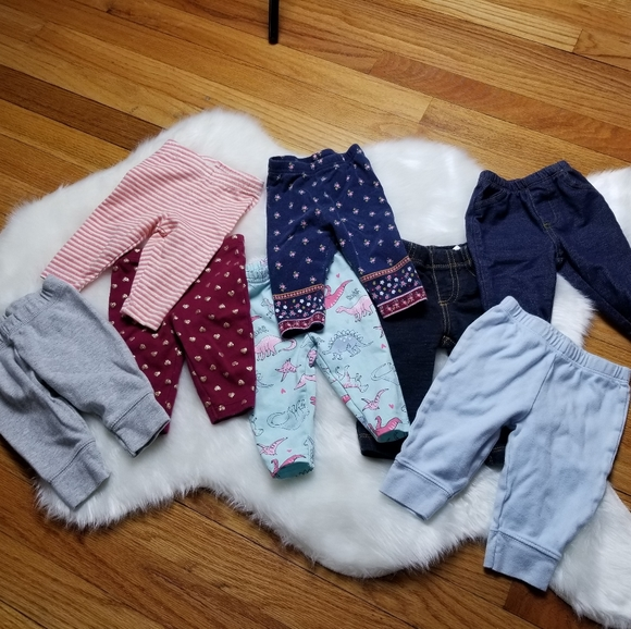 Other - Bundle lot 3 month baby girl pants